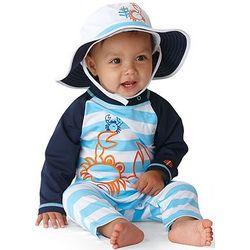Boys Baby Beach One Piece Swimsuit UPF 50+