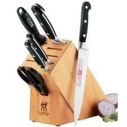 "Henckels Professional ""S"" 7 Piece Cutlery Block Set"