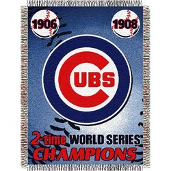 Chicago Cubs CS Woven MLB Throw