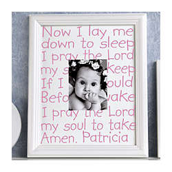Personalized Prayer Photo Frame
