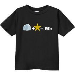 Rock Plus Star Equals Me Toddler T-Shirt