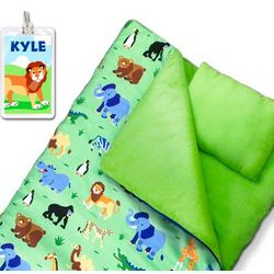 Kid's Sleeping Bag with Personalized Name Tag