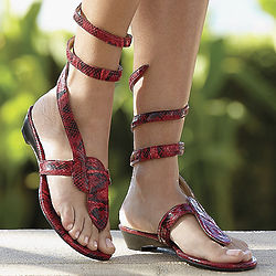 Women's Wrap Around Sandals