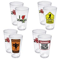 Zombie Pint Glass Set
