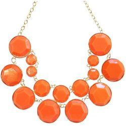 Double Layer Coral Bubble Necklace
