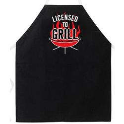Licensed to Grill Apron Attitude Apron