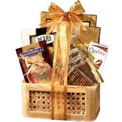 Gourmet Chocolate Birthday Gift Basket
