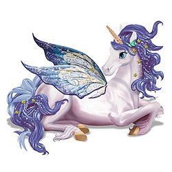 Starlit Wonder Unicorn Tabletop Lamp