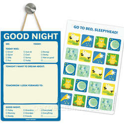 Good Night Playtime Notepad