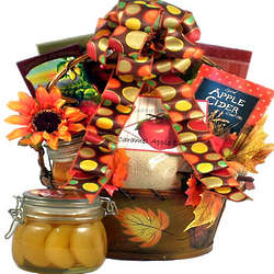 Flavors of Fall Gift Basket