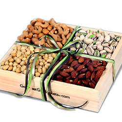 Gourmet Nut Selection Gift Crate