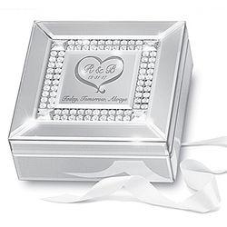 Romantic Personalized Mirrored Music Box