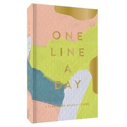 Modern Moglea One Line a Day Memory Book