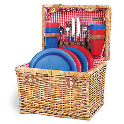 Oxford Picnic Basket for 4