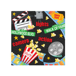 Lights, Camera, Action Lunch Napkins