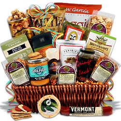 Super Bowl Tailgate Party Gift Basket