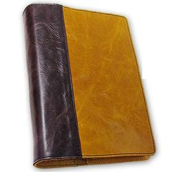 Custom Leather Medium Quarter Bound Book Cover
