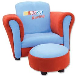 Nascar Racing Chair and Ottoman Set