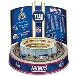 New York Giants Super Bowl XLVI Musical Carousel