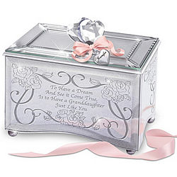 Granddaughter, You're a Dream Come True Personalized Music Box