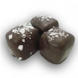 Salted Caramels In Dark Chocolate 25 Piece Box