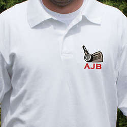Hole In One Personalized Golf Club Polo Shirt