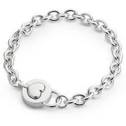 Padlock Heart Bracelet