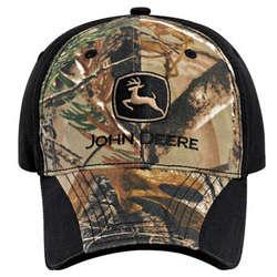 John Deere Camo Cloth Cap