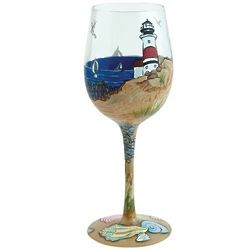 Coastal Wine Glass