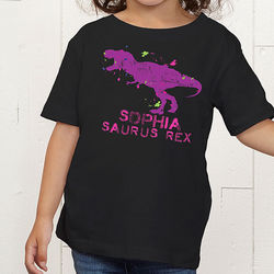 Personalized Dinosaur Kid's Toddler T-Shirt
