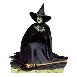 The Wicked Witch Melting Cutout