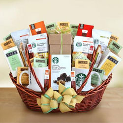 Ultimate Starbucks Gift Basket