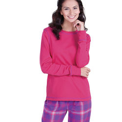 Raspberry Plaid Pajamas