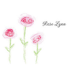 Personalized Roses Cards and Envelopes