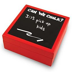 Can We Chalk Covered Box