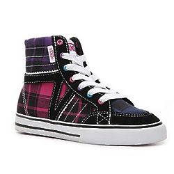 Corrie III Girl's Toddler and Youth Hi-Top Sneakers