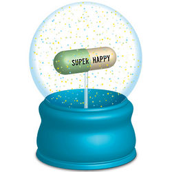 Instant Happiness Snow Globe