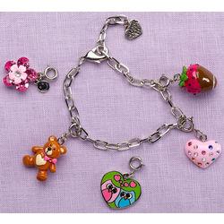 Sweet Heart Charm Bracelet