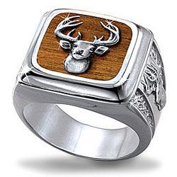 Men's 10-Point Buck Trophy Ring
