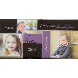 My Favorite Faces Personalized 3 Photo Canvas Art