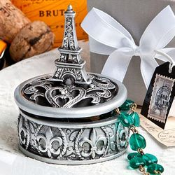 Eiffel Tower Design Curio Box