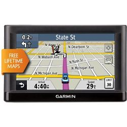 Touchscreen GPS with Free Lifetime Map Updates