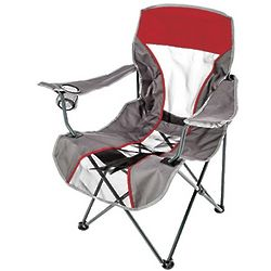 Imprinted Kelsyus Quad Mesh Backpack Chair