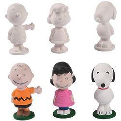 12 Peanuts DIY Ceramic Figures