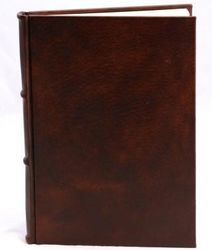 Italian Leather Journal with Handmade Amalfi Pages
