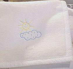 One Fine Day Baby Blanket
