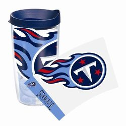 2 Tennessee Titans 16 Oz. Tervis Tumblers with Lids