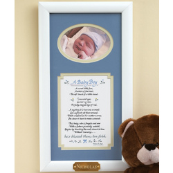 A Precious Baby Frame for Boy or Girl