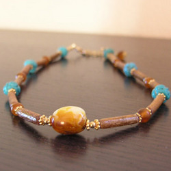 Butterscotch Amber Nugget Necklace