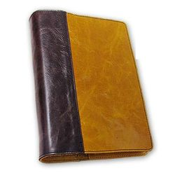 Custom Leather X-Large Quarter-bound Book Cover